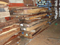 Exotic Hardwood- Red, Brown and other colors