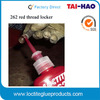 Disassembly with direct heat red Loctit 262 super stud lock Anerobic glue loctit 262 threadlocker red thread sealer