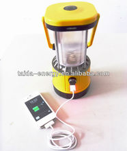 New hot USB socket solar camping lantern SL-601