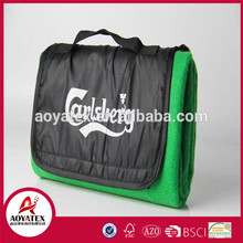 custom design 100% polyester Production On Time Many Capacities Famous brand promotional picnic blanket for outdoor