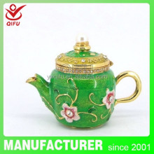 Manufacturer wholesale new design fashion aladdin lamp gift box item metal decoration(QF3916)