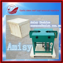 garlic farm equipment fresh garlic root cutting machine