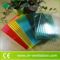 Grade A multiwall pc smoked colored polycarbonate sheet roll