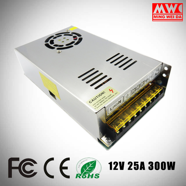 S-300-12 300w led driver 12v 25a switching power supply for Factory wholesale