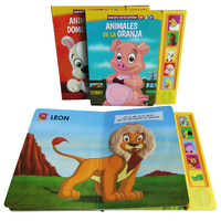 Preschool Children Board Book with Voice Customized Kids Story Book Printing with OEM Professional Manufacturer in China 2017