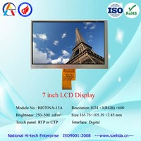 capacitive touch screen module with 1024 x 600