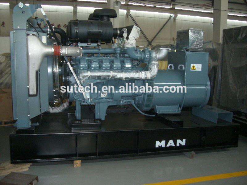 Germany original engine D2840LE213 687.5kva Man engine generator