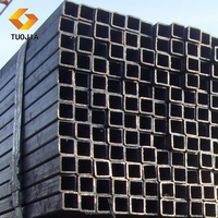 ms hollow section 20 inch black steel pipe square iron tube weight in china