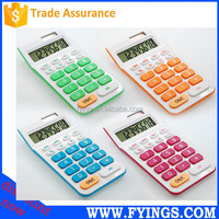 2015 dual power electronic desktop 8 digit big disply calculator with big button
