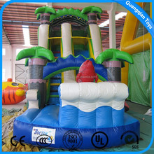 Commercial Grade Inflatable Water Slides Giant Inflatable Slide For Sale