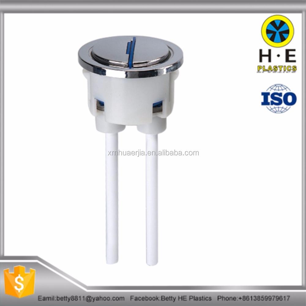 Bathroom cistern fittings - Toilet Cistern Oem Odm Dual Flush Button Flush Tank Spare Parts Accessories