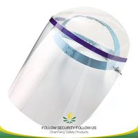 pvc free foam board protective safety face shield