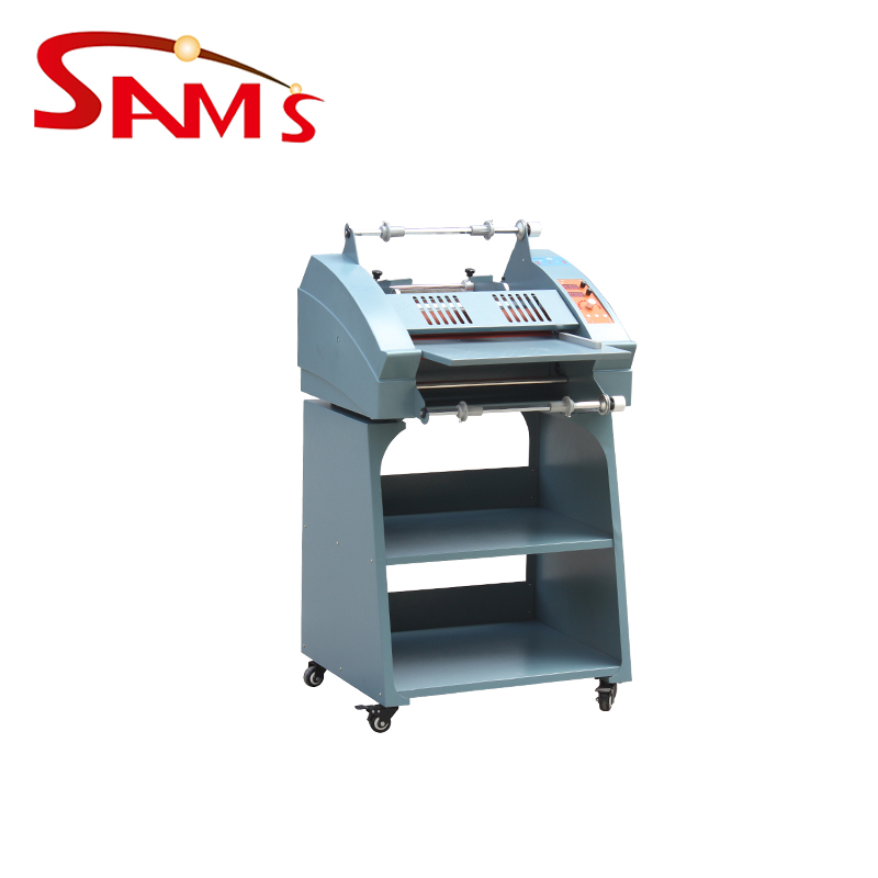 Intelligent control cold and hot auto slitting roller laminator machine FM-3810