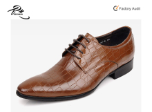 Wholesales online retail dropshipping men leather shoes, leather party shoes on sales