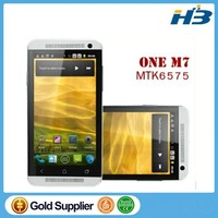 HDC One M7 phone MTK6589 quad core 1.7ghz 3G phone 1.5GB-2GB RAM 16GB/32G Rom Android 4.2.1 13MP