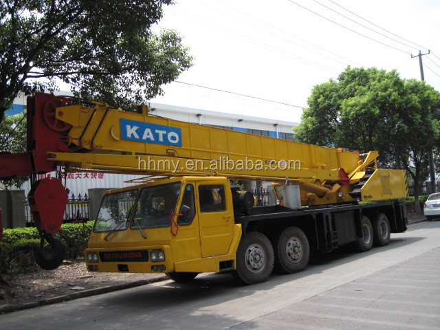 40 ton kato all terrain crane from shanghai with reasonable price