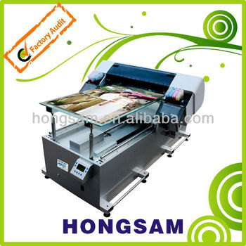 HJ-8610 Simpler & Convenience Digital Direct-to-Garment Printer