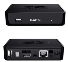 Digital satellite receiver mag254 iptv box media Google TV Player video ott smart android tv box