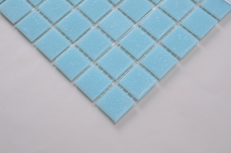light blue glass mosaic tile/ceramic mosaic tile for bathroom/glass mosaic tile swimming pool A30