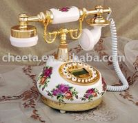 Ceramic Antique telephone