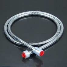 Flexible shower head extension head stainless steel shower hose