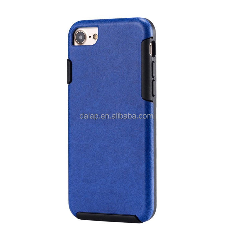 2017 unique tpu denim fabric leather phone case for iphone 7