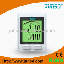 Professional bicycle lcd cycle computer odometer speedometer with wireless heart rate monitor