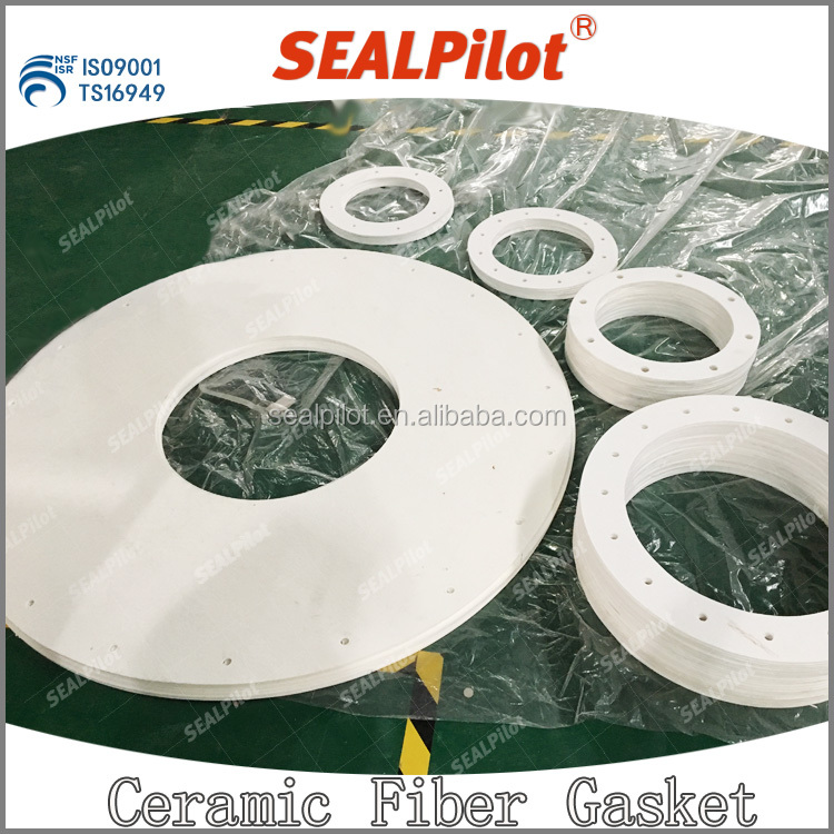 Resistance to high temperature ceramic fiber paper gasket aluminum silicate gasket made in China