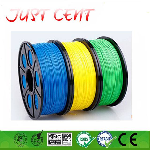 Yellow color 1.75mm & 3mm PLA / ABS 3D printer filament