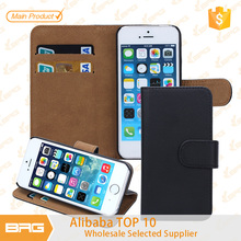 Mobile phone leather case for iphone5s