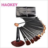 32 pcs professional portable makeup brush set