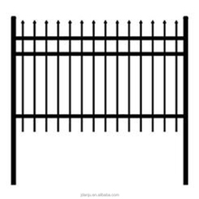 Galvanized Palisade Fencing 1.8m High Perimeter Security 6ft