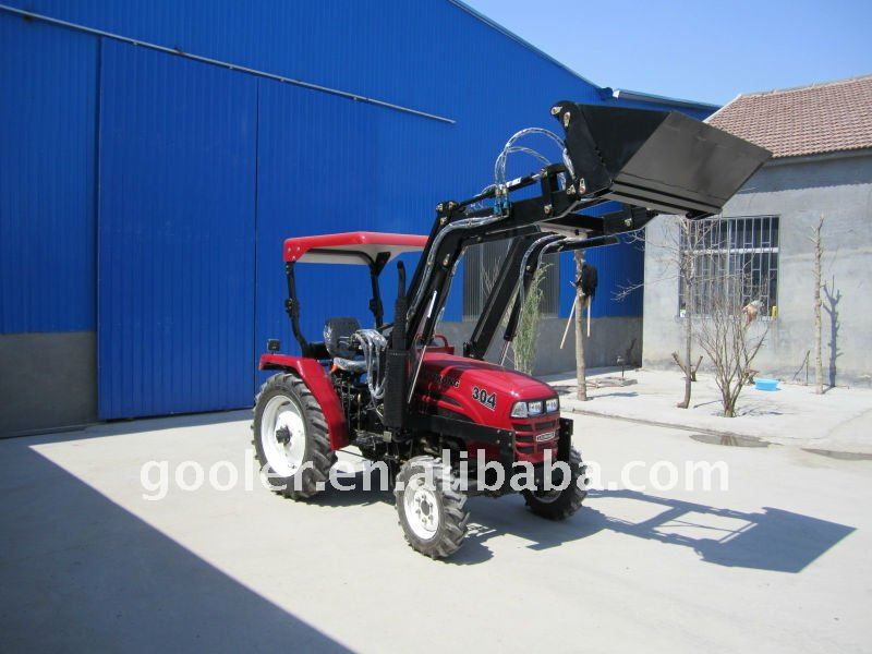TZ03D Front end loader with 4in1 bucket fit with LZ254