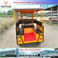 Hot sale in Ghana Tanzania Uganda Cameroon Congo Mali New Design HOYUN Tuk Tuk HY200ZK Richshaw Three wheel Passenger Tricycle