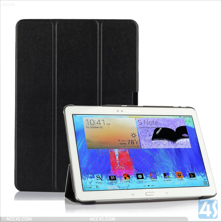 For Samsung Galaxy Tab Pro 10.1 T520 smart leather cover case