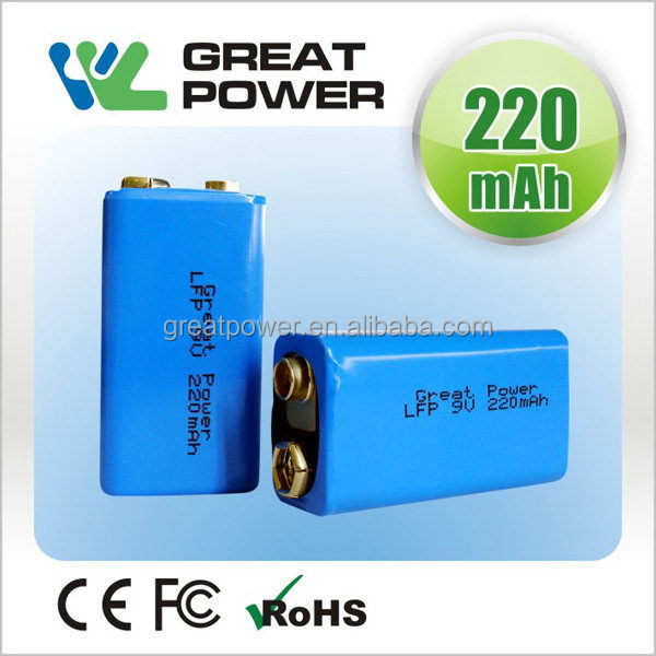 Special professional rechargeable lifepo4 battery cell