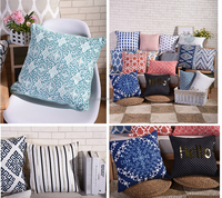 Tongxiang manufacturer home/cafe decor digital printing latest new design cushion cover