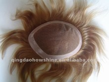 Different Size Swiss Lace in the middle PU around Wholesale Brazilian Human Hair sell china wigs toupee