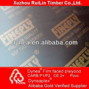 high quality aluminum faced plywood Chinese shuttering plywood