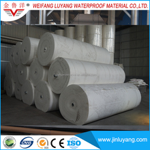reinforcing materials polyester mat for polymer modified bitumen roofing sheets