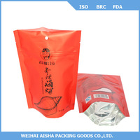 Aluminum Foil Ziplock Bag Fishing Lure Packing Bag