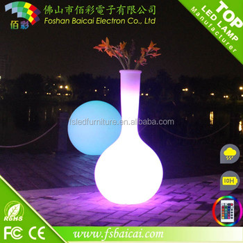 Good look LED glowing flower pot/garden decoration