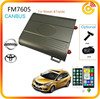 CANBUS voice SMS control Smart car alarm system with GPS location and free app FM7605