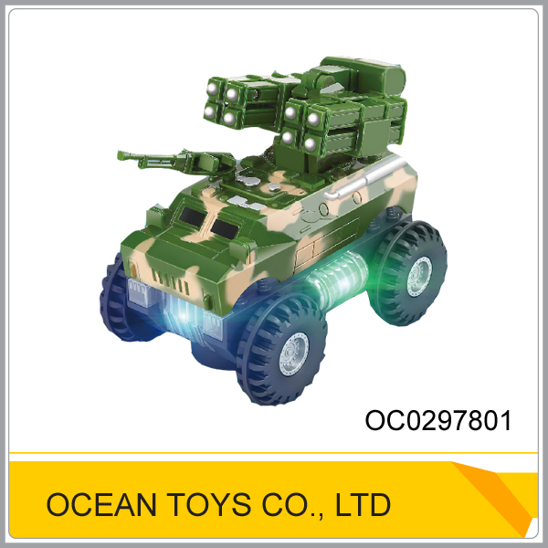 Educational assemble toy b/o military toys play set OC0297801