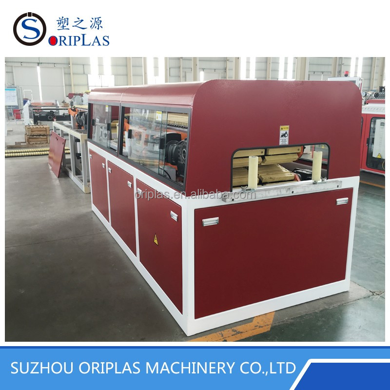 Automatic Small Wood Plastic Composite Profile Products Making Machine