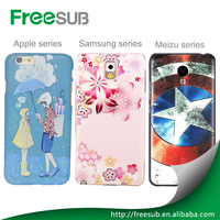Wholesale customed 2D 3D blank sublimation phone cases for Iphone 5 C