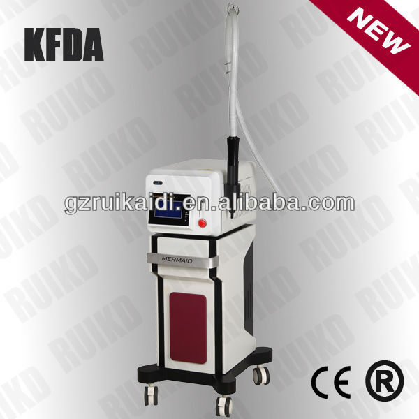 latest tattoo/acne/spot/mole/nevus removal laser facial equipment
