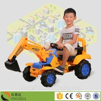 Children Toy Electric Excavator For Fun,Mini Tractors Toys
