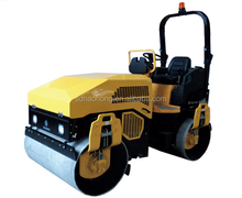 hydraulic tandem vibration road roller 3 ton soil compactor