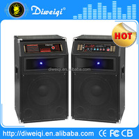 New style portable dj system active pa speaker